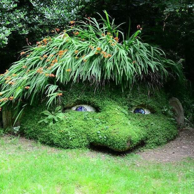 Тролль в  саду