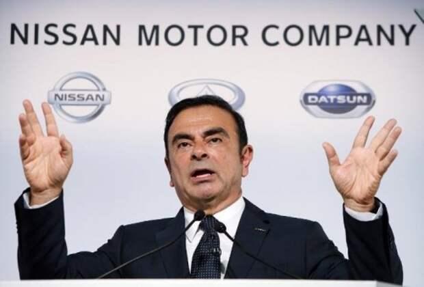 Глава альянса Renault-Nissan Карлос Гон