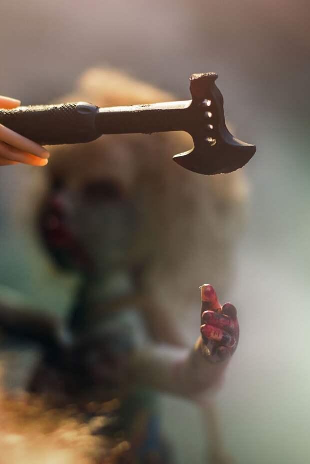 Зомби-куклы от фотографа Шерон Райт