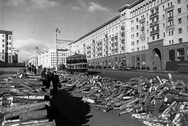 Как выглядела Москва во время Великой Отечественной (ФОТО)