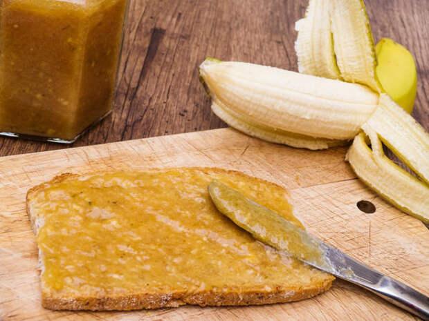 Варенье из кабачков с бананами