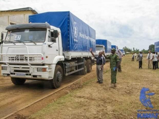 КАМАЗ подарит ООН более 200 грузовиков