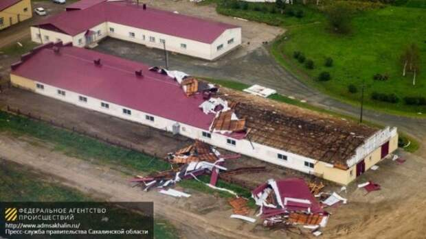 Тайфун оставил без электричества 12 населенных пунктов на Сахалине.