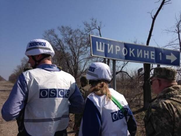 Война на Украине продолжается. ОБСЕ фиксирует новые обстрелы