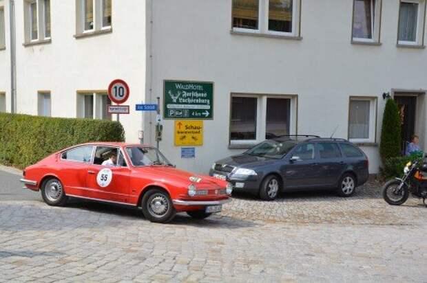 Классика по-саксонски: фоторепортаж с олдтаймер-ралли Sachsen-Classic 2015