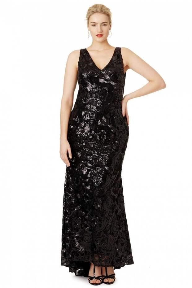 15 платьев для девушек размера плюс, которые идеально подойдут для встречи Нового года