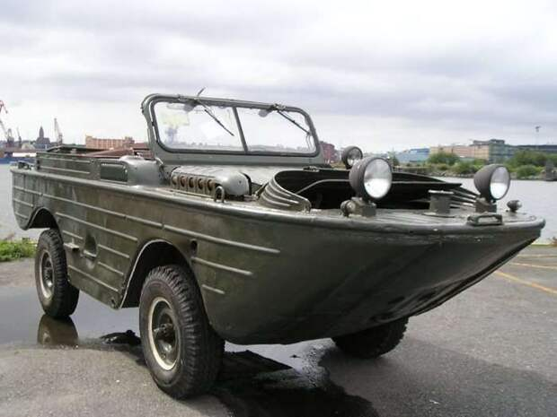 Амфибия МАВ выпускалась в Нижнем Новгороде и в Ульяновске с 1953 по 1958 гг.   Фото: abw.by.