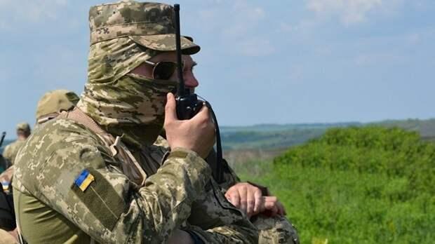 На Украине военные провели учения вблизи Крыма