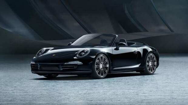 2015 Porsche 911 Black Edition