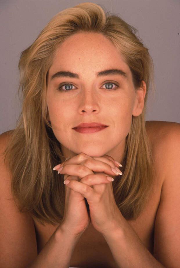 Шэрон Стоун (Sharon Stone) в фотосессии Яна Майлза (Ian Miles) (1990), фото 8