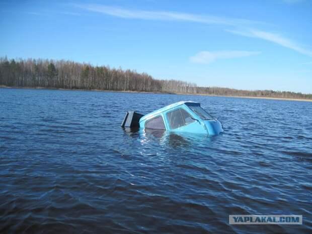 Нежданчик  рыбаков в озере поджидал...