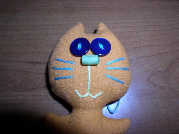 Милые магниты с котятами:) Мастер-класс