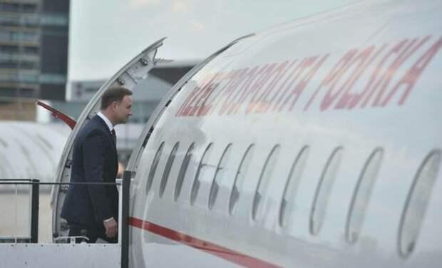 «Смоленск-2»?: самолёт президента Польши Дуды едва не потерпел крушение