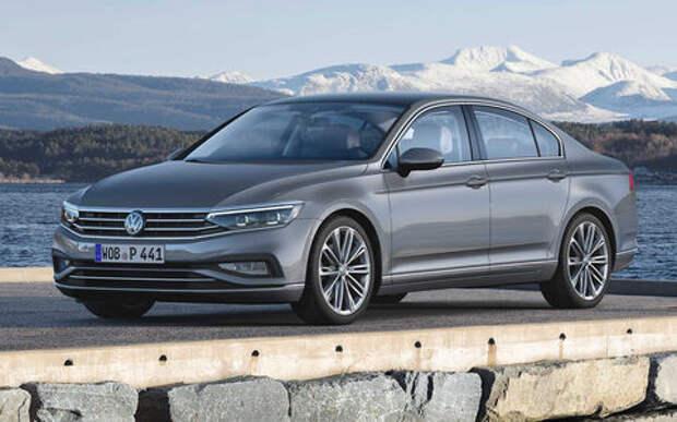 VW представил Passat с чистым дизелем