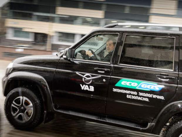 УАЗ Патриот CNG для Минэнерго прошел обкатку