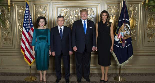 Первое место поинвестициям вэкономику Узбекистана в2018 году заняли США