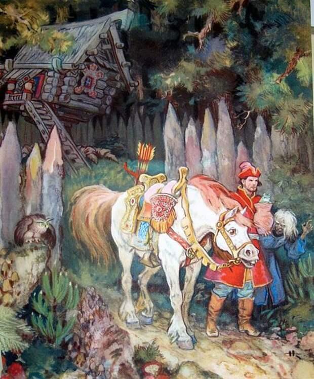 Сказочная Русь в иллюстрациях Николая Кочергина.