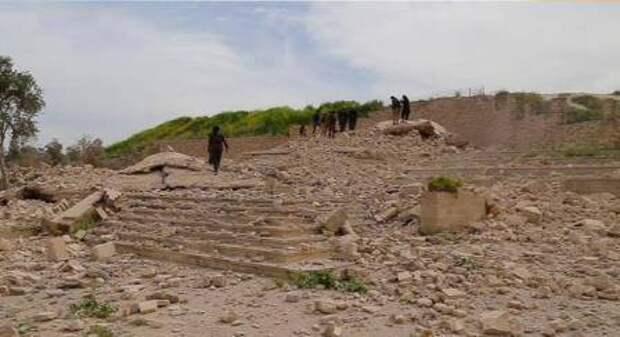 Боевики «Исламского государства» взорвали христианский монастырь IV века