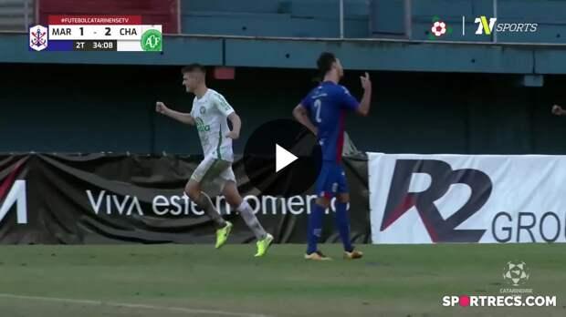 Perotti vira o jogo para a Chapecoense diante do Marcílio Dias - Campeonato Catarinense (18/04/2021)