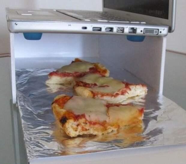 А это хитрое устройство можно сделать и из подручных средств обед, прикол, работа, хитрости