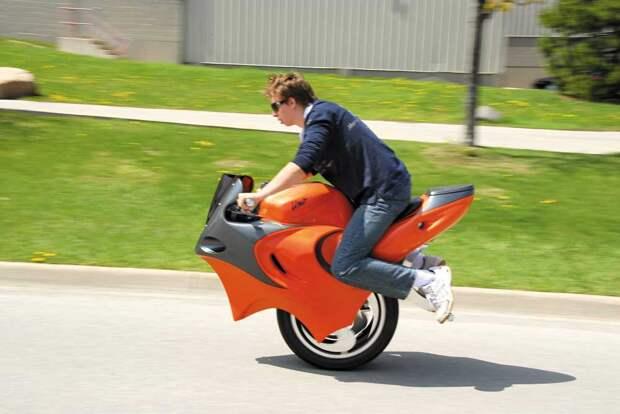 UNO. Как выглядит одноколесный мотоцикл?
