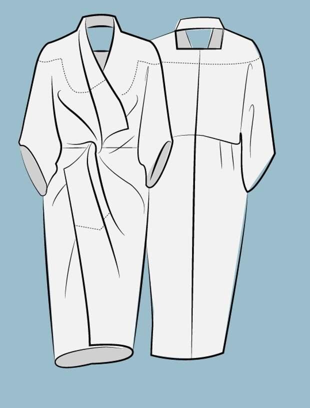 Как скроить платье без отходов (Diy)