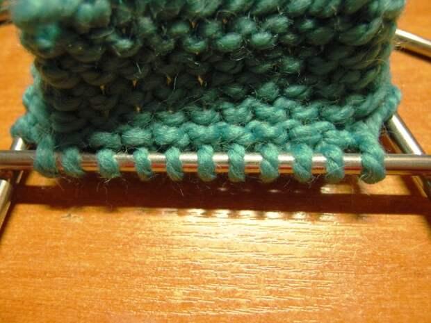 Домашние башмачки спицами