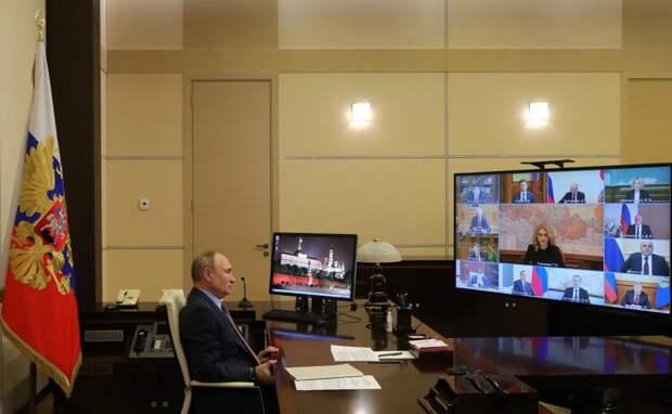 Путин обсудил с правительством новые меры борьбы с коронавирусом
