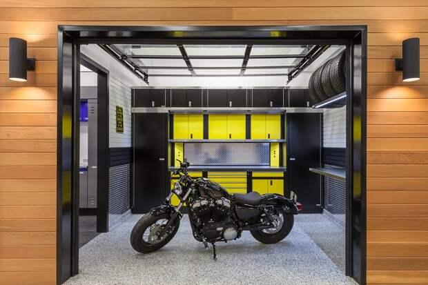 Как обеспечить безопасное хранение мотоцикла зимой?