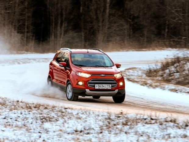 Ford EcoSport против Mitsubishi ASX и Renault Duster: гуляет сам по себе. Часть 2