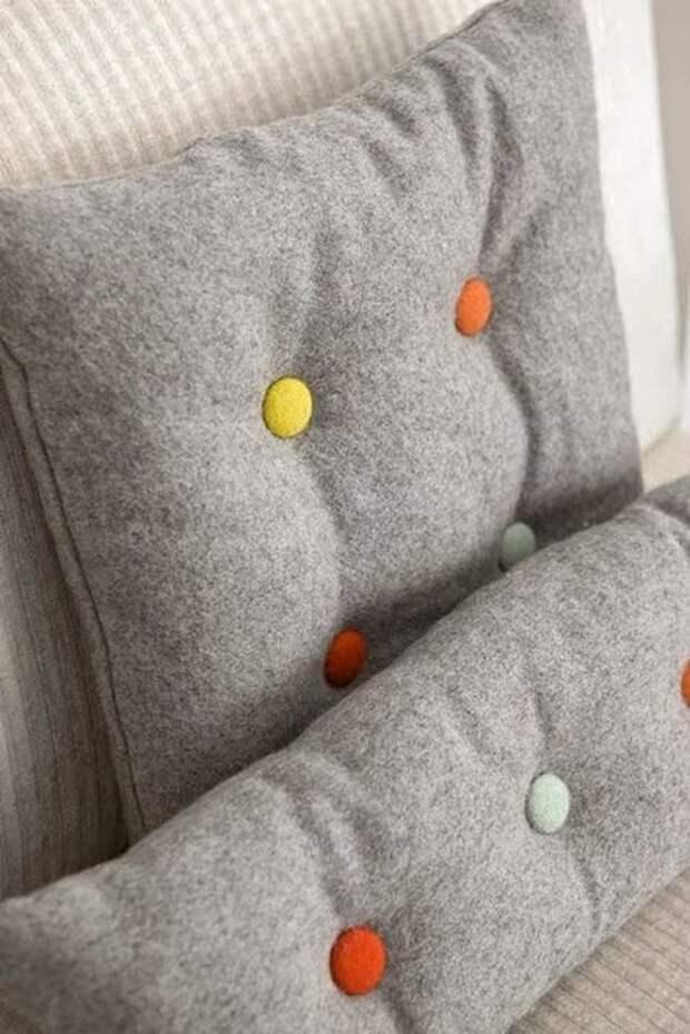 13. Шерстяные подушки