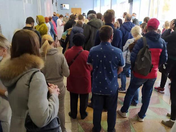 Люди уже дерутся у регистратуры, чтобы обследоваться на коронавирус