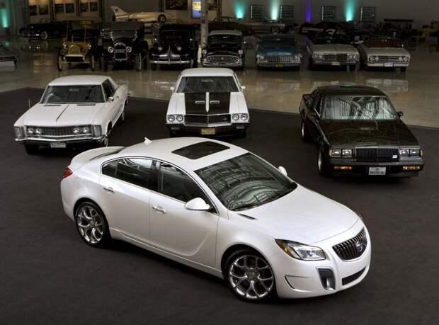 16. Buick авто, история