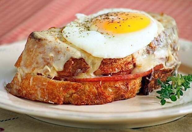 Крок-мадам – позавтракайте, как герои Пруста