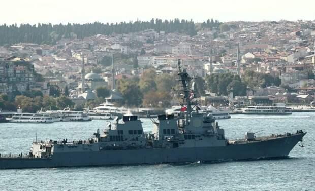 США отменили отправку военных кораблей в Черное море