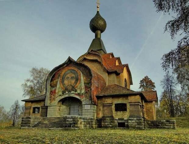 Неизвестная Россия: Уникальный храм Святого Духа, построенный Рерихом под Смоленском
