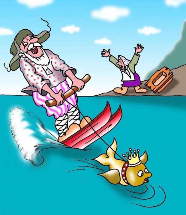 Забавные картинки-карикатурки в ассортименте