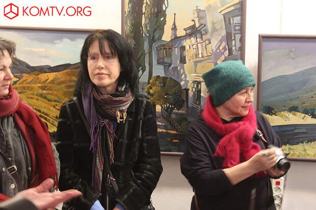 Ирина Илышева и организатор выставки Ирина Николина
