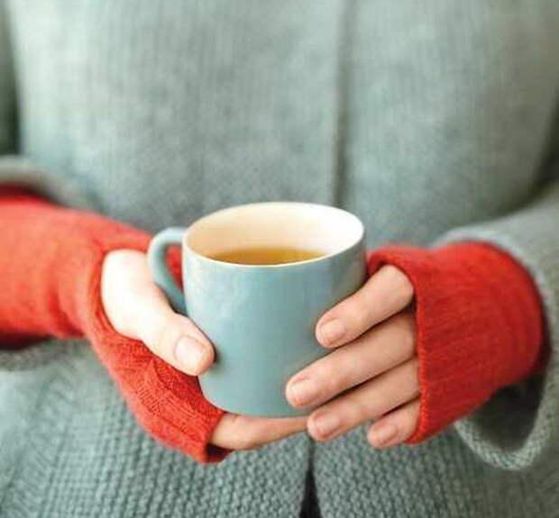 3. Теплые митенки свитер, своими руками, совет, хитрости