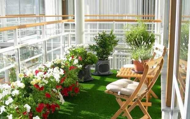 покрытие на пол балкона