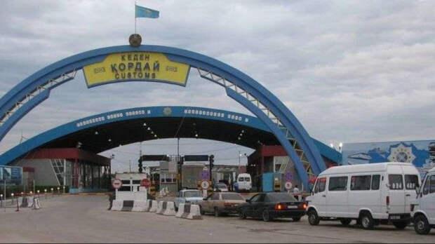 Погранпост «Кордай» временно приостановил работу из-за зараженного КВИ