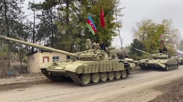 Азербайджанская армия вошла в Агдам