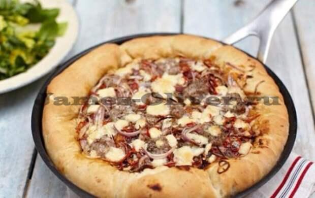 Сытная чикагская пицца