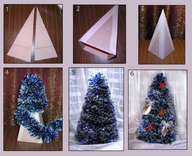 Как самому сделать елку? Хэндмэйд на Новый год
