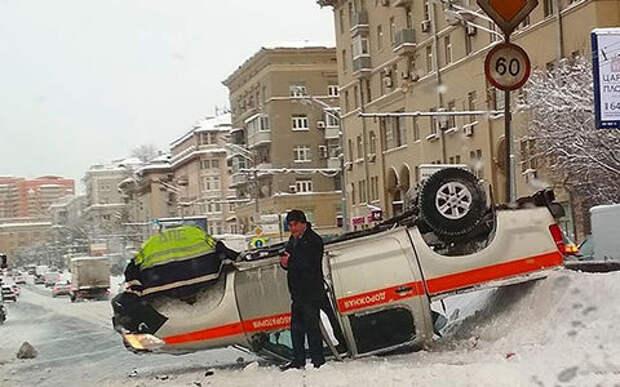 «Снегопад века»: как в Москве пережили первый катаклизм года