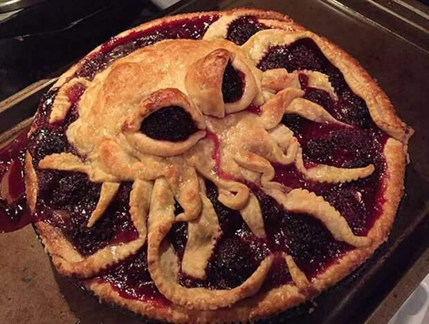 Советы любителям выпечки: 30 ярких идей для украшения пирога выпечка, красивая еда, кулинария, пироги
