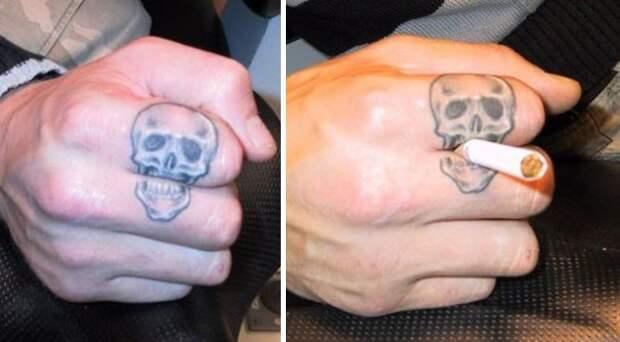 Подборка самых остроумных татуировок