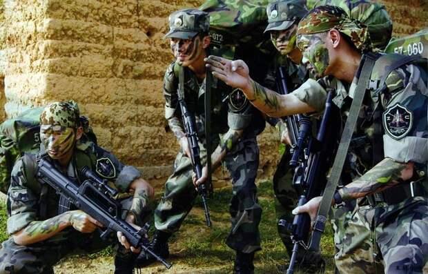 Поберегись! Китай идёт бить террористов!