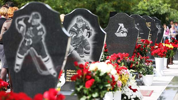 В Ярославле подожгли могилу погибшего в авиакатастрофе игрока «Локомотива»