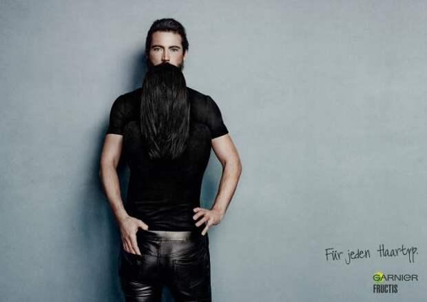 Garnier: Black., Garnier, Publicis Zurich, L'Oreal, Печатная реклама